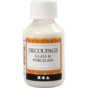 Decoupagelack För Glas Och Porslin 100ml