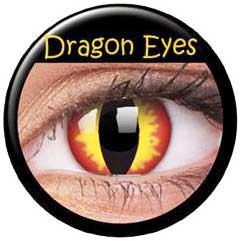 """Linser """"Dragon Eyes"""" 1par ( 1år)"""