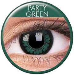 """Linser """"Party Green"""" 1par ( 3månader)"""