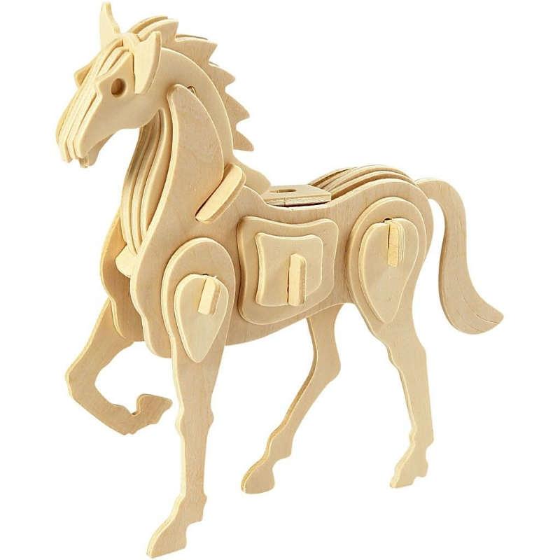 3D Pussel Häst