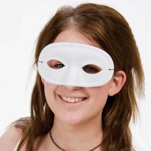 Ögonmask Vit för maskerad.