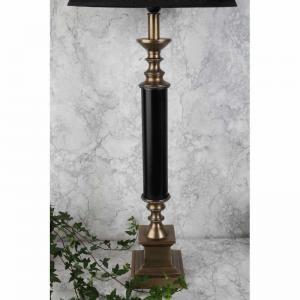 Lampfot Zero antikguld/svart 2 olika storlekar