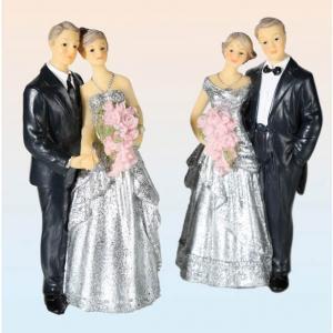 Brudpar Silver bröllop