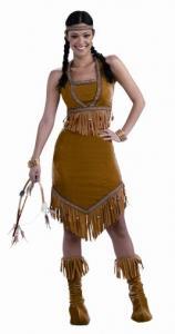 Maskerad Indian tjej lyx