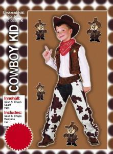 Dräkt Cowboy för barn