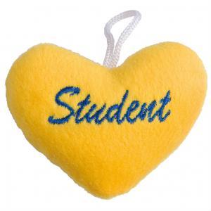 Studenthjärta Gult