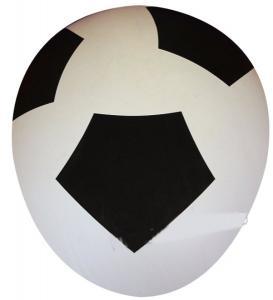 Ballonger med fotbollsmönster 6st