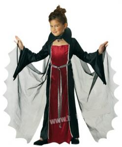 Dräkt barn Vampyrklänning