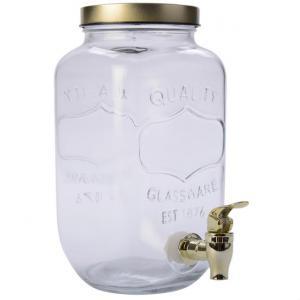 Dryckbehållare Tappkran Guld