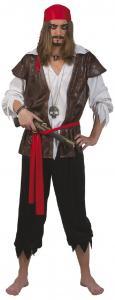 Maskerad Pirat karibisk