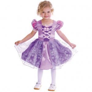 Maskeraddräkt Barn Lila Prinsessklänning