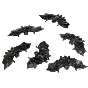 Fladdermöss Svarta Gummi