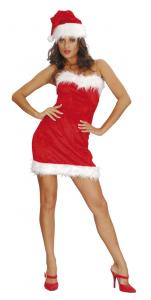 Maskeraddräkt Sexy Santa Lady