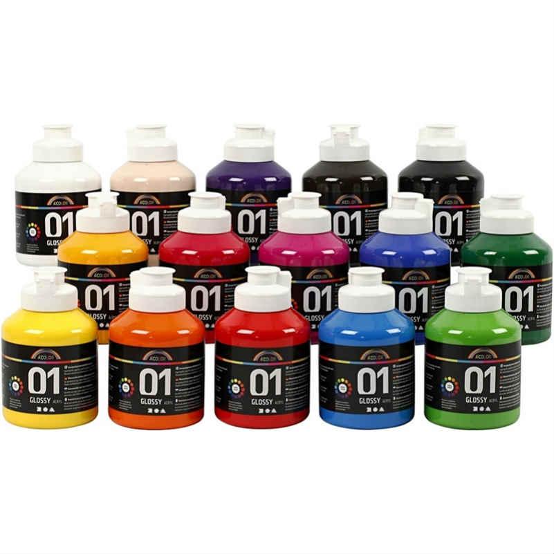 A-Color Akrylfärg Blank
