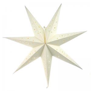 Adventsstjärna vit eller röd papper 74cm