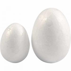 Ägg frigolit 10pack 2storlekar