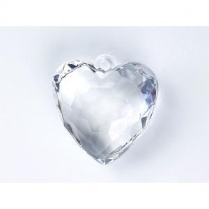 Hjärtan Diamant Plast 5 Pack