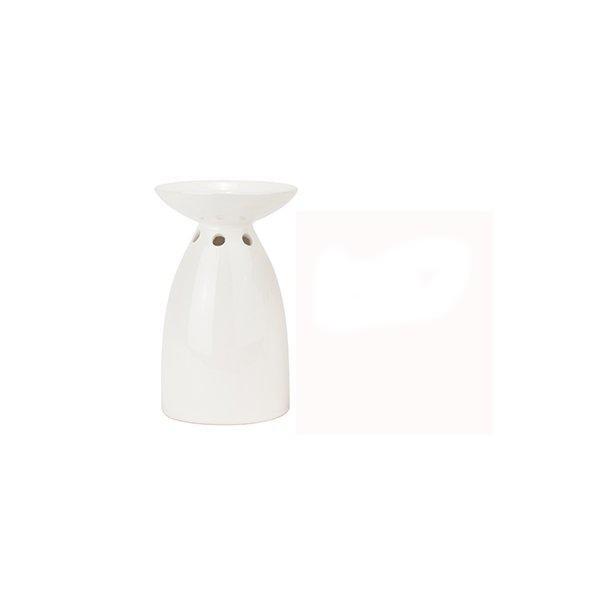 Aromalampa - Ljusplatå vit H13cm