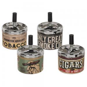 Askkopp snurr Tobacco D10cm