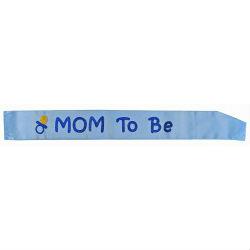 "Ordensband ""Mom to be"" Rosa eller Blå"