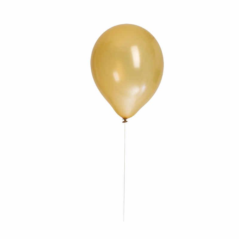 """Ballonger 12"""" Guld metallic 8-pack"""