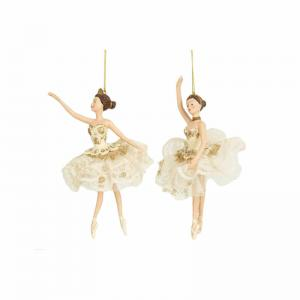 Ballerina hängande creme