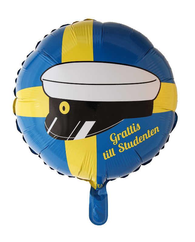 Folieballong student 46cm