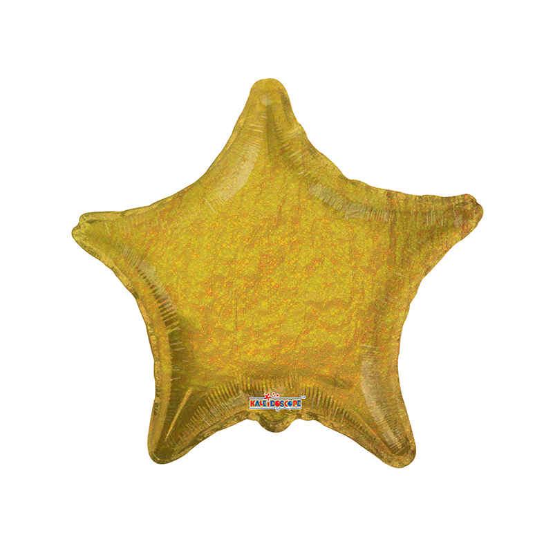 Ballong folie stjärna guld