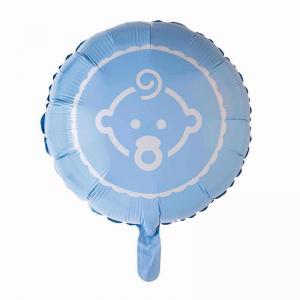 Ballong folie baby blå