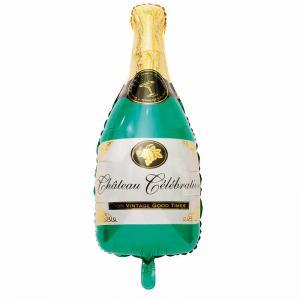 "Ballong folie ""champagneflaska"""