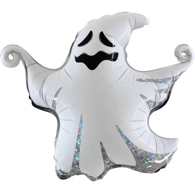 "Ballong folie ""Scary Ghost""43 cm"