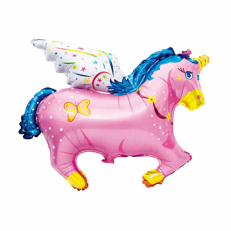 Ballong folie Unicorn