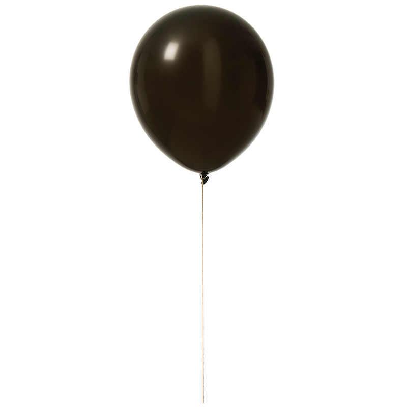 """Ballonger 12""""svarta 10-pack"""