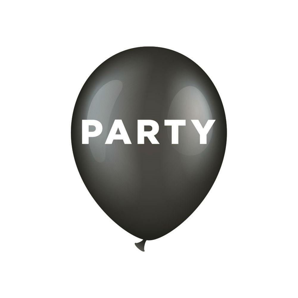 Ballonger  6p med text Party