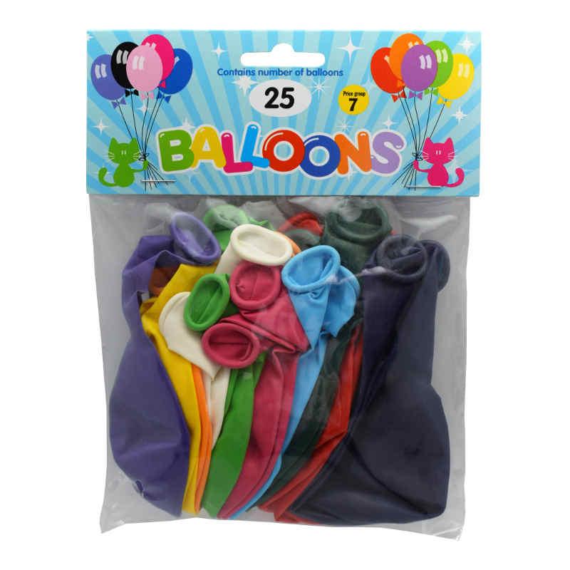 Ballonger 30cm Mix 25pack
