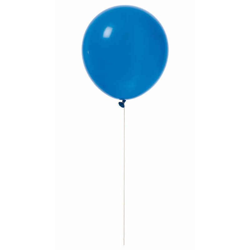 """Ballonger 12"""" blå 10-pack"""
