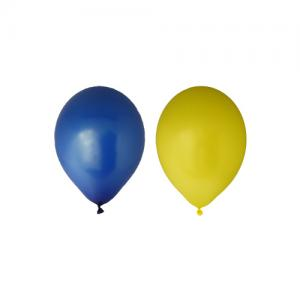 Ballonger Gul och Blå 10pack