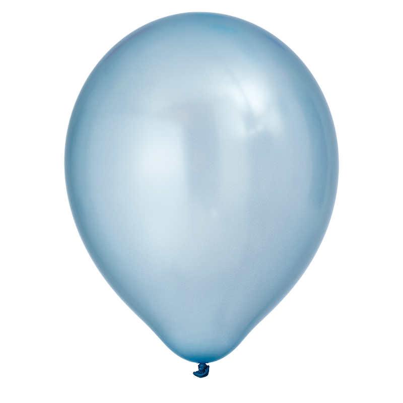 Ballong Pärlemo Blå 8-pack