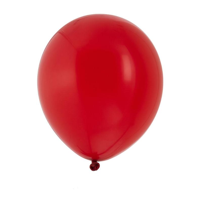 """Ballonger 12"""" röd 10-pack"""