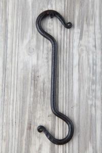 Beslag S-Krok smide L20cm