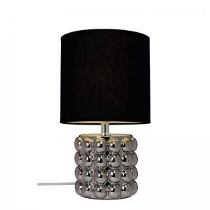 Bordslampa kupol krom
