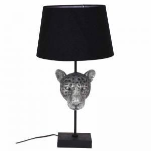 Bordslampa leopard