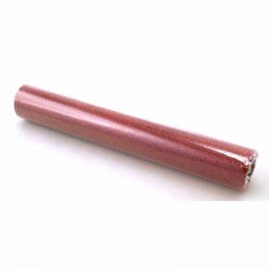 Löpare på rulle nät med glitter Röd 28cm x 5meter