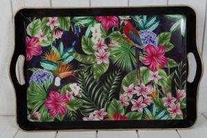Bricka Flower 52x34cm