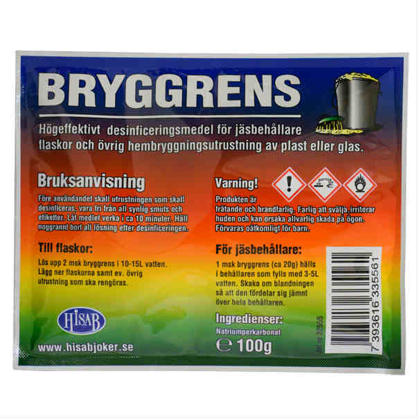 Bryggrens 100gr