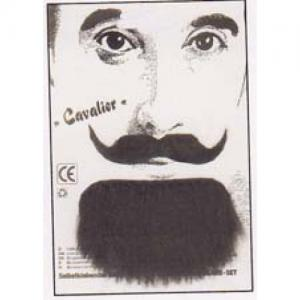 Cavalier Mustasch och skägg
