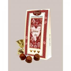 Chokladpraliner Älskar dig