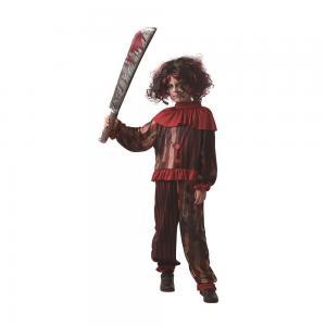Clowndräkt skräck för barn och tonåring