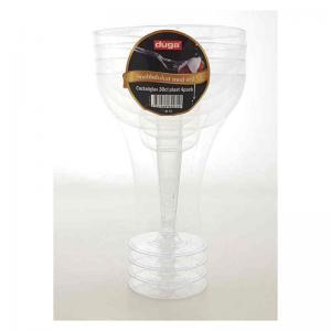 Coctailglas engångs 4-pack