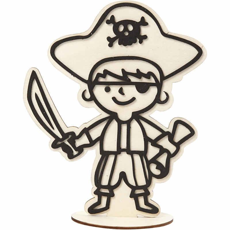 Dekorationsfigur Pirat